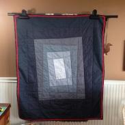 Grey Quick Quilt