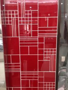 Tiled storefront