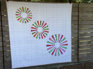 Front of quilt.